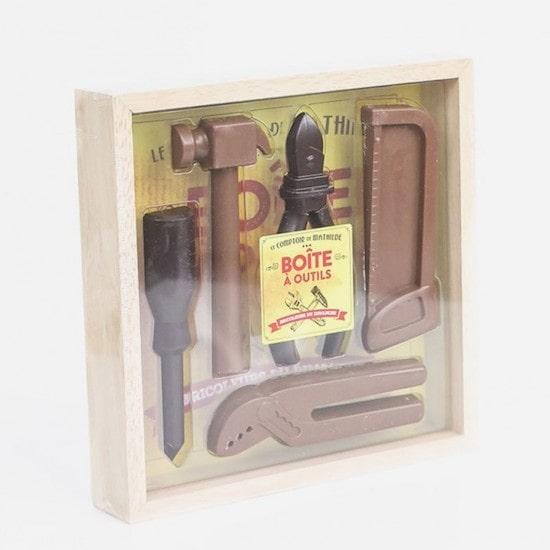 Boîte à outils en chocolat