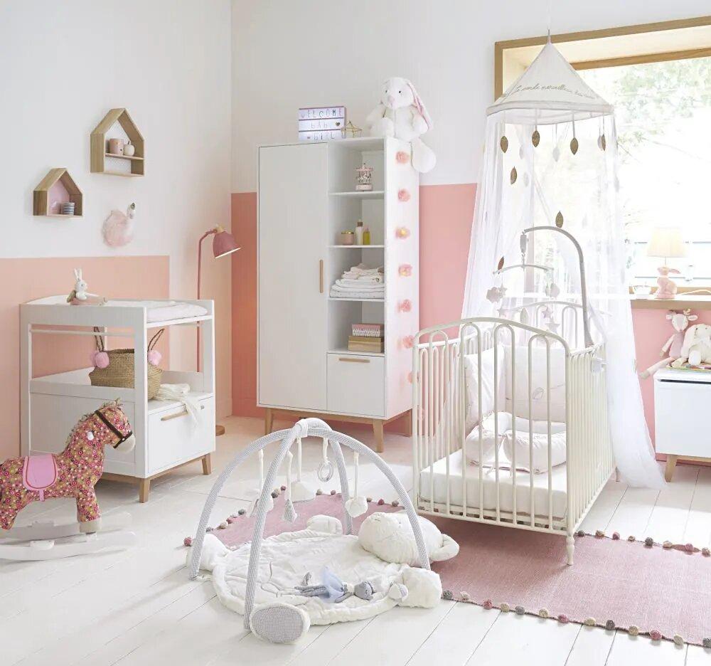 Chambre bébé Maisons du Monde à la fois moderne, scandinave et vintage