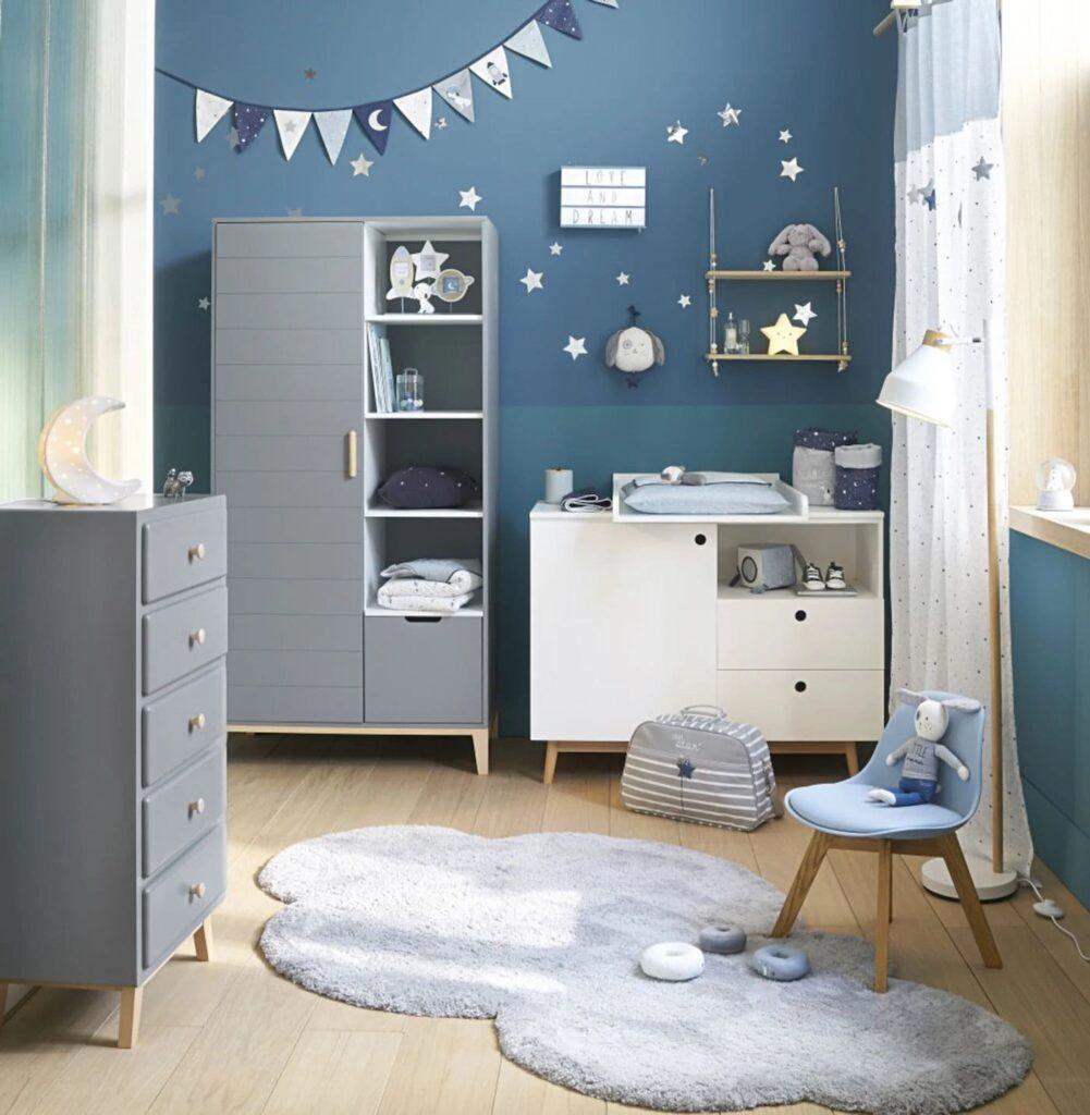 Chambre bébé Maisons du Monde inspiration douce et féerique