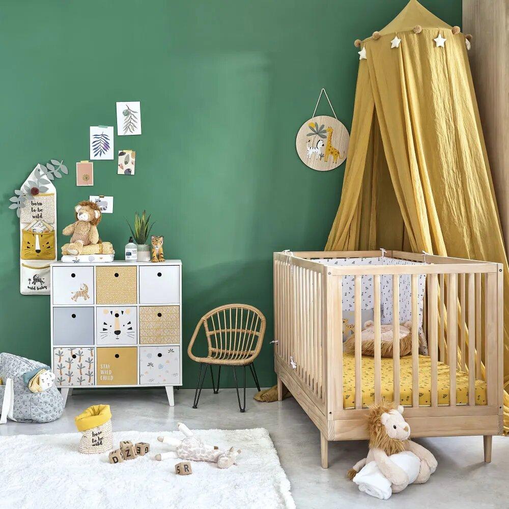 Inspiration chambre bébé jungle savane coloré de Maisons du Monde