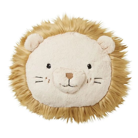 Coussin tête de lion MINI JUNGLE de Maisons du monde