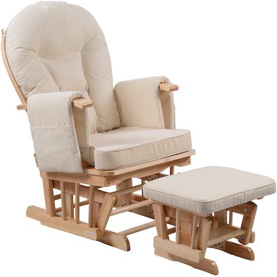 Chaise de grossesse avec repose-pieds