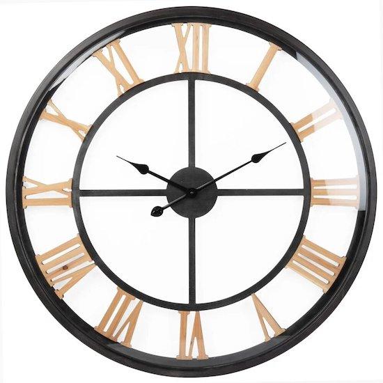 Horloge pendule murale style vintage de Maison du monde