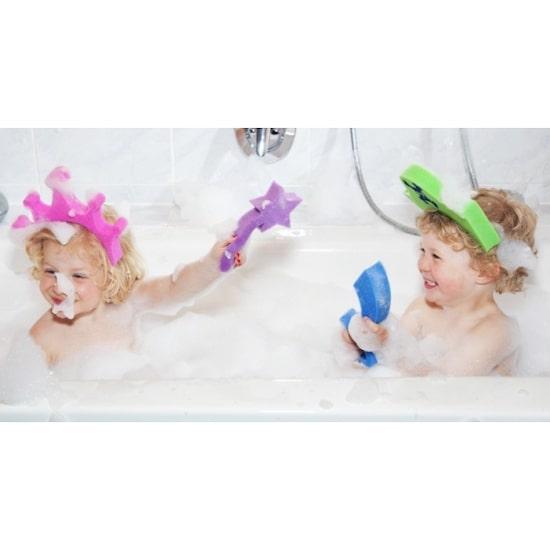 Cadeau de naissance rigolo les jouets de bain éponge