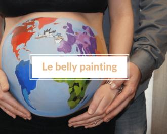 Read more about the article Belly painting : immortaliser la grossesse de façon originale 🎨
