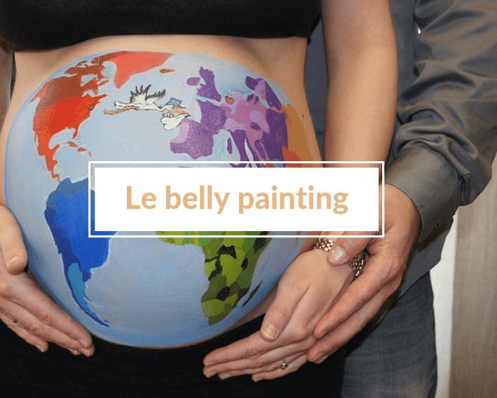 Belly painting : immortaliser la grossesse de façon originale 🎨