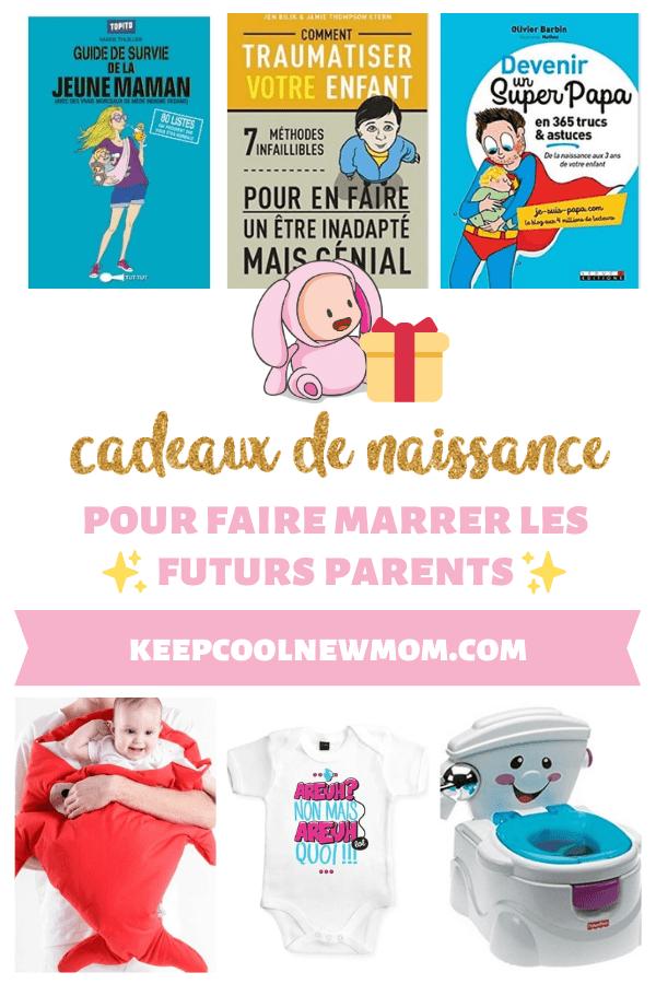 Quel cadeau de naissance rigolo offrir pour faire marrer les futurs parents à coup sûr ? - Un article à découvrir sur le blog : keepcoolnewmom.com