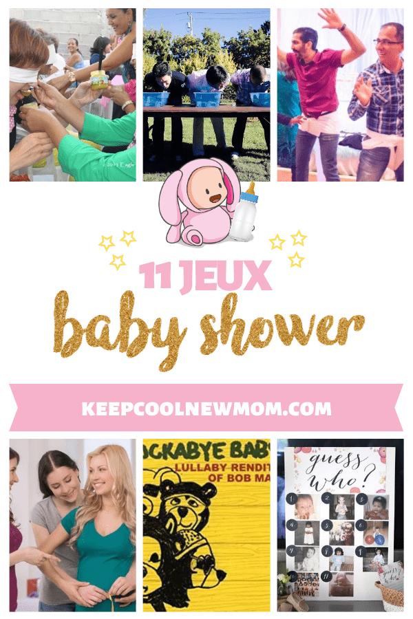 11 jeux baby shower incontournables pour s'amuser entre amis - Un article à découvrir sur le blog : keepcoolnewmom.com