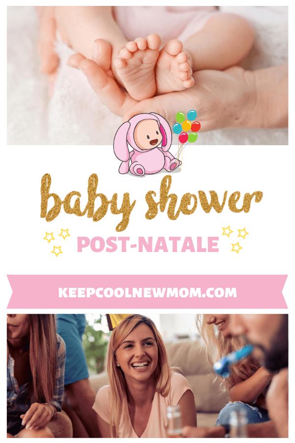 11 raisons d'organiser une baby shower post-natale - Un article à découvrir sur le blog : keepcoolnewmom.com