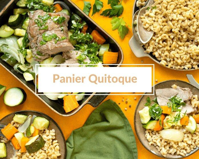 Le panier Quitoque : un concept de panier à cuisiner livré à domicile pour te simplifier la vie (et faire plaisir aux papilles)