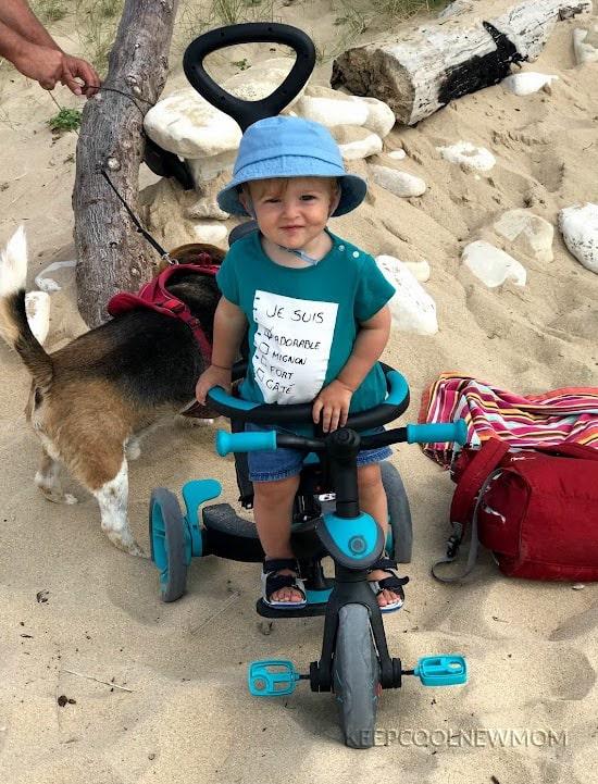 Tricycle évolutif 4 en 1 GLOBBER