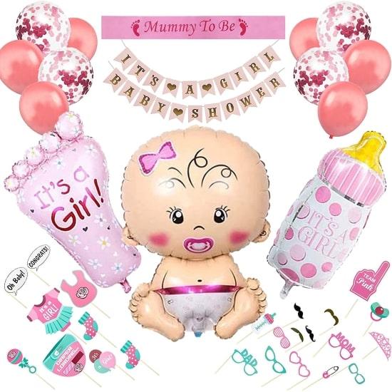 Kit baby shower fille