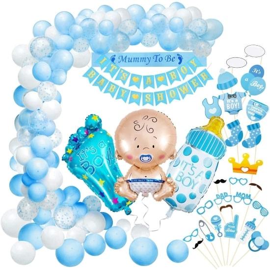 Kit baby shower garcon