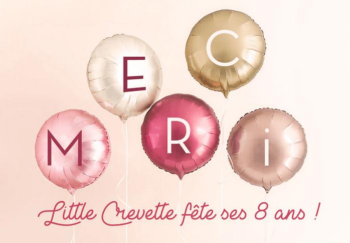 Le site Little Crevette fête ses 8 ans