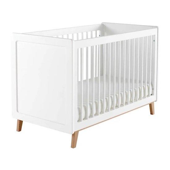 Lit bébé à barreaux blanc SWEET de Maisons du Monde