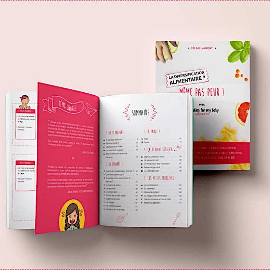 Livresur la diversification alimentaire de bébé avec Cooking for my baby