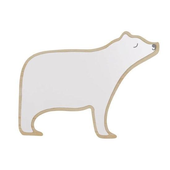 Inspire-toi du Grand Nord pour la déco de chambre de ton enfant et offre-lui le miroir ours de Maisons du Monde