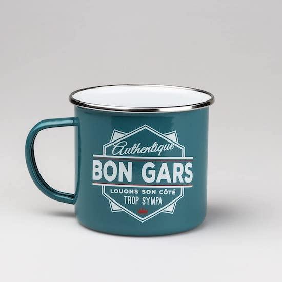"""Mug """"LES BONS GARS"""" destiné à un papa ou favor daby shower"""
