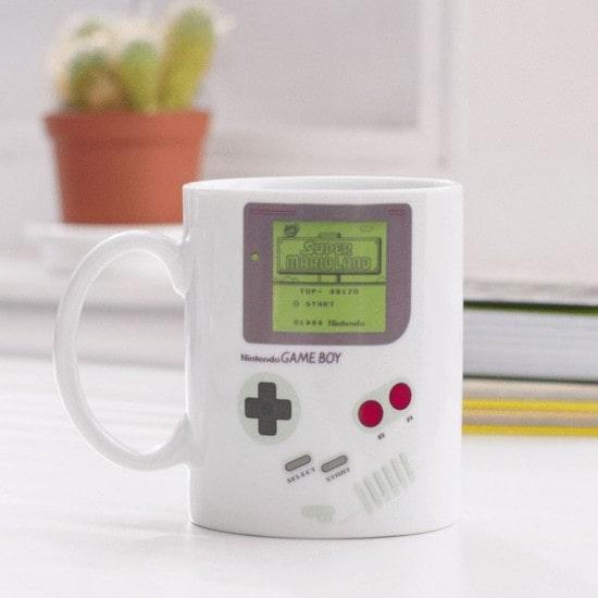 Mug Thermoréactif Game Boy pour favor daddy shower ou fête des pères