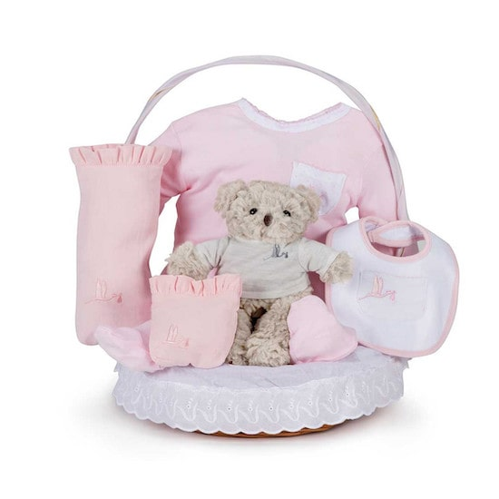Panier naissance baby shower ou maternité