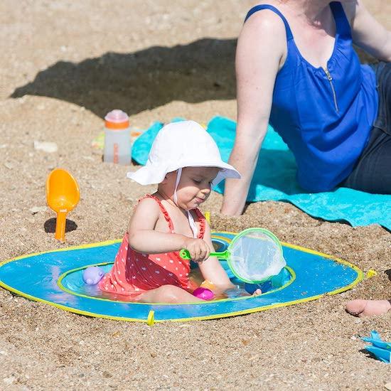 Piscinette de plage pour bébé Oxybul