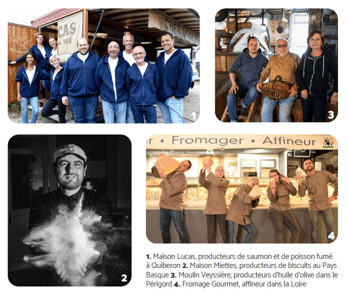 Producteurs français partenaires Quitoque