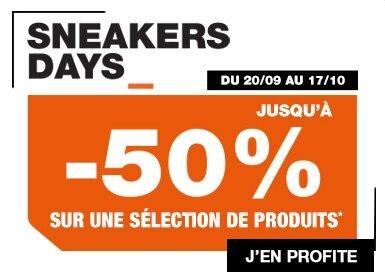 Découvre les Sneakers Days chez Courir.com
