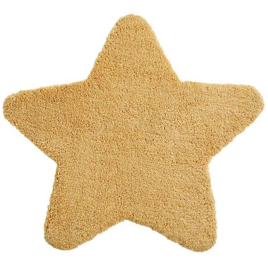 Tapis étoile jaune de la collection GASPARD de Maisons du Monde