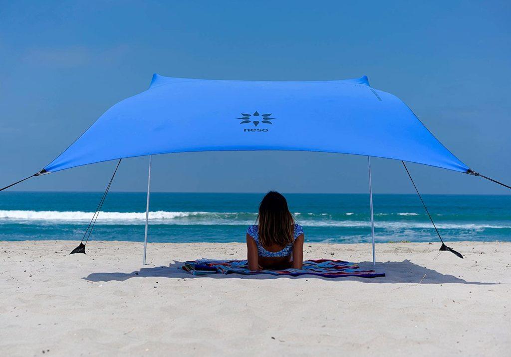 Tente de plage anti-UV Neso pour protéger bébé à la plage