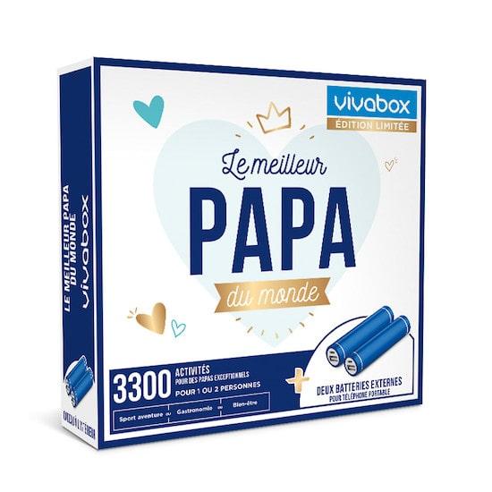 Wonderbox papa : idée cadeau de naissance pour un papa ou cadeau pour la fête des père
