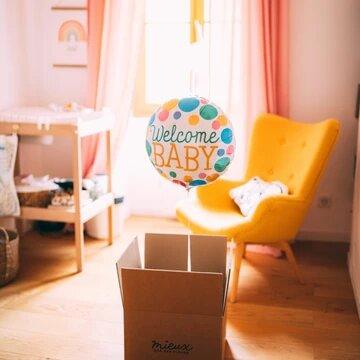 Box ballon pour annoncer sa grossesse