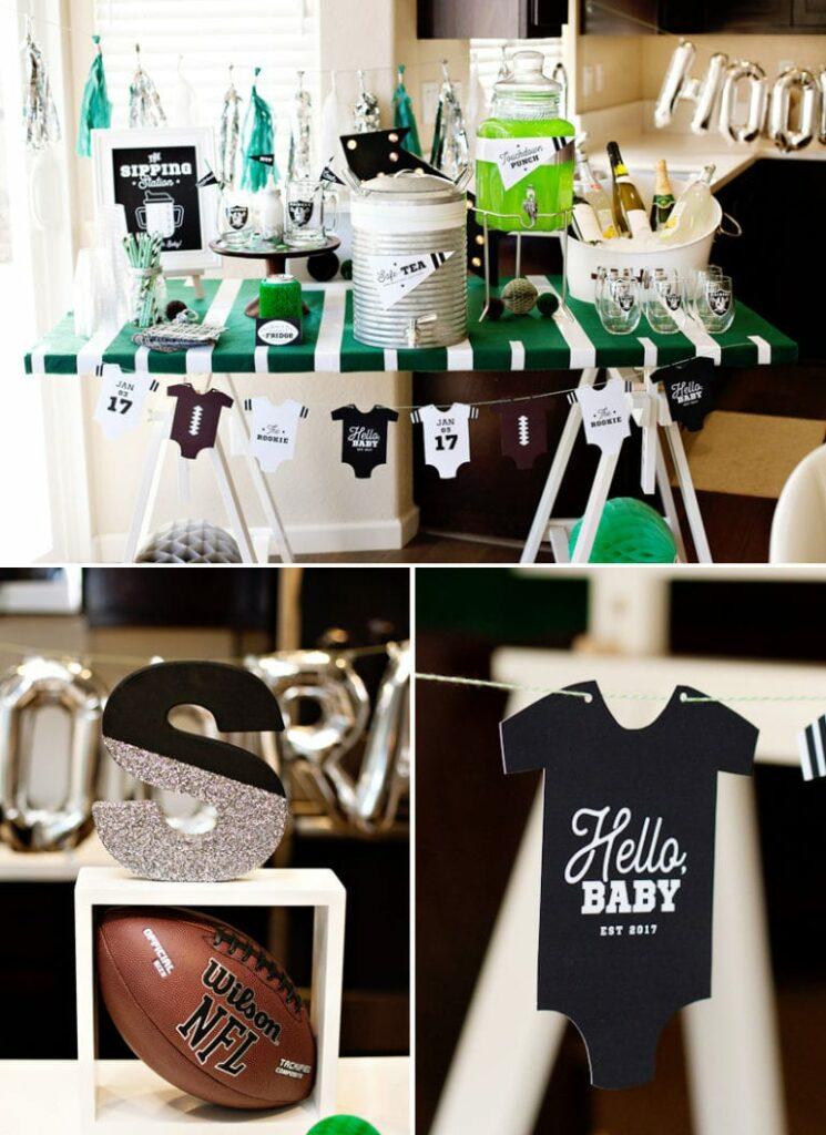 Baby shower garcon thème sportif