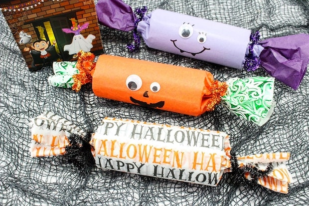 Crackers pour Halloween