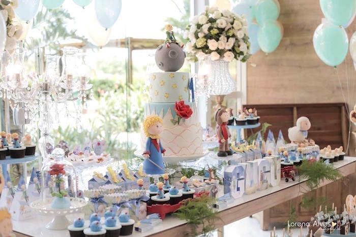 Baby shower garcon thème Petit prince
