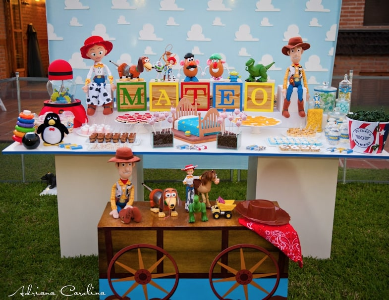 Baby shower garcon thème Toy Story