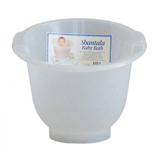 Baignoire shantala blanc pour le bain de bébé