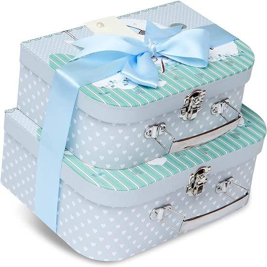 Boîtes à souvenirs pour immortaliser les souvenirs de bébé, à mettre absolument sur sa liste de naissance Milirose