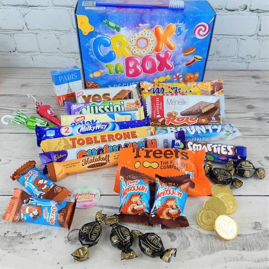Coffret gourmand Crox box de Génération Souvenirs