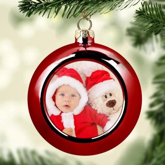 Boule de Noël personnalisée à offrir comme premier cadeau de Noël pour bébé - Créatrice ETSY : LaFabrik34