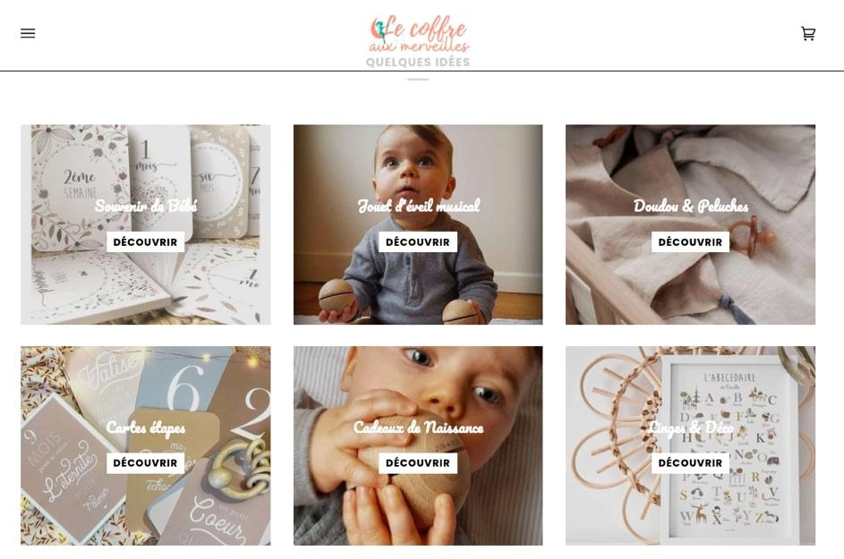 Découvre la jolie boutique Le Coffre aux Merveilles, un concept store qui propose des merveilles écoresponsables et éthiques pour enfants