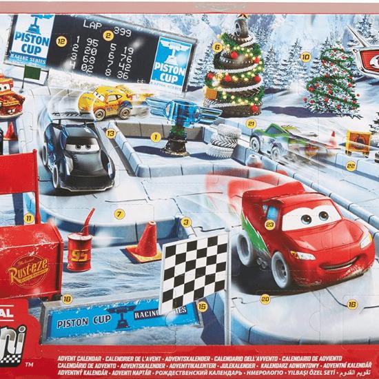 Calendrier de l'Avent pour bébé Cars Disney Pixar
