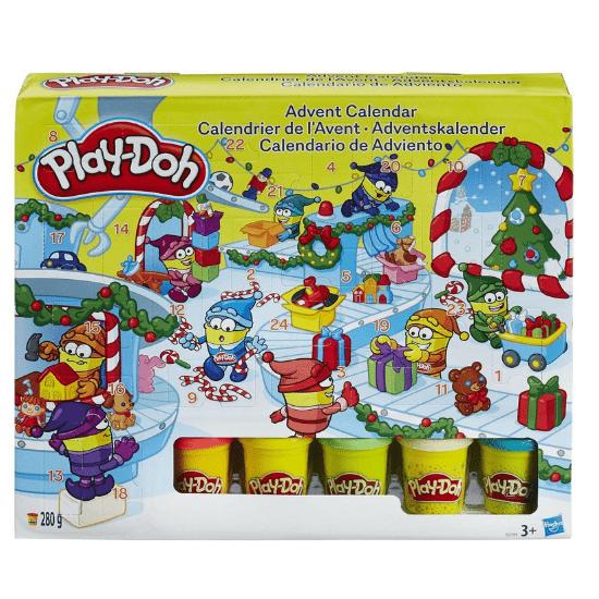 Calendrier de l'Avent pour bébé Play-Doh pâte à modeler