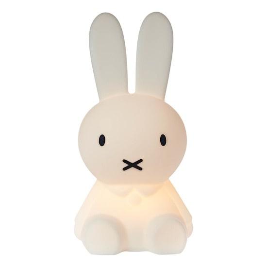 Veilleuse Miffy en forme de lapin pour chambre d'enfant