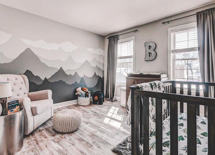 Inspiration chambre bébé montagne stylée et épurée