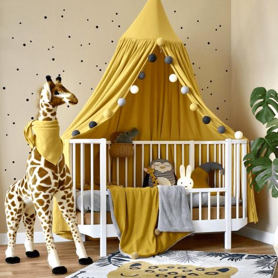 Inspiration chambre bébé ambiance safari