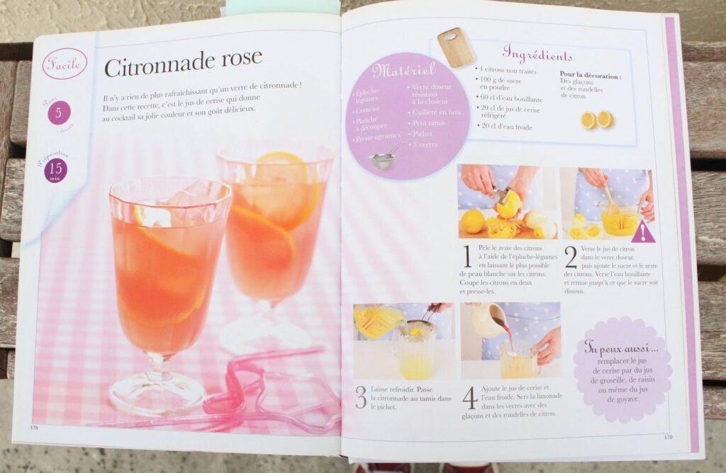 Recette de la citronnade rose spécial cocktails sans alcool