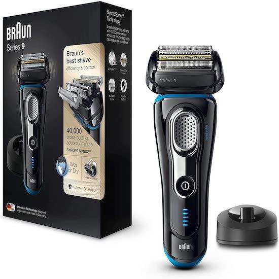 Le rasoir électrique Braun Series 9 est une belle idée cadeau pour la fête des pères