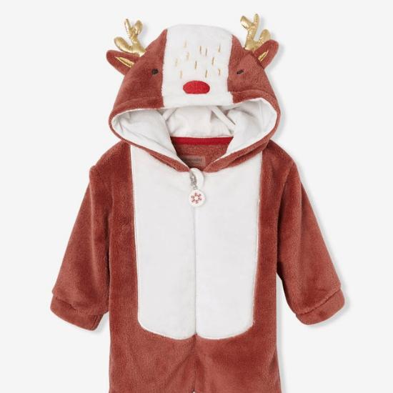 Combinaison bébé esprit Renne de Noël Vertbaudet