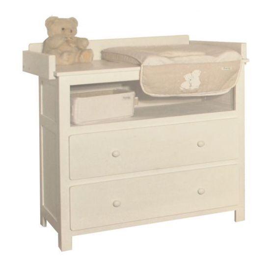 Commode brut prêt à peindre LA CABANE DE CALYS pour aménager une chambre bébé naturelle