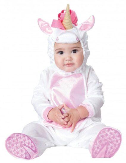 Costume Halloween bebe licorne